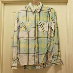 Mossimo supply co button down collar shirt